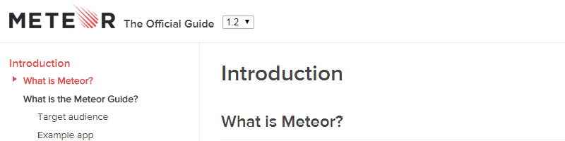 meteor,前端开发 2