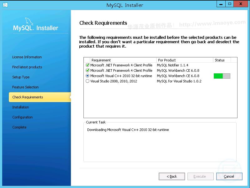 mysql,Windows 9